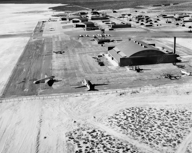 The Airforce Test Center in 1945