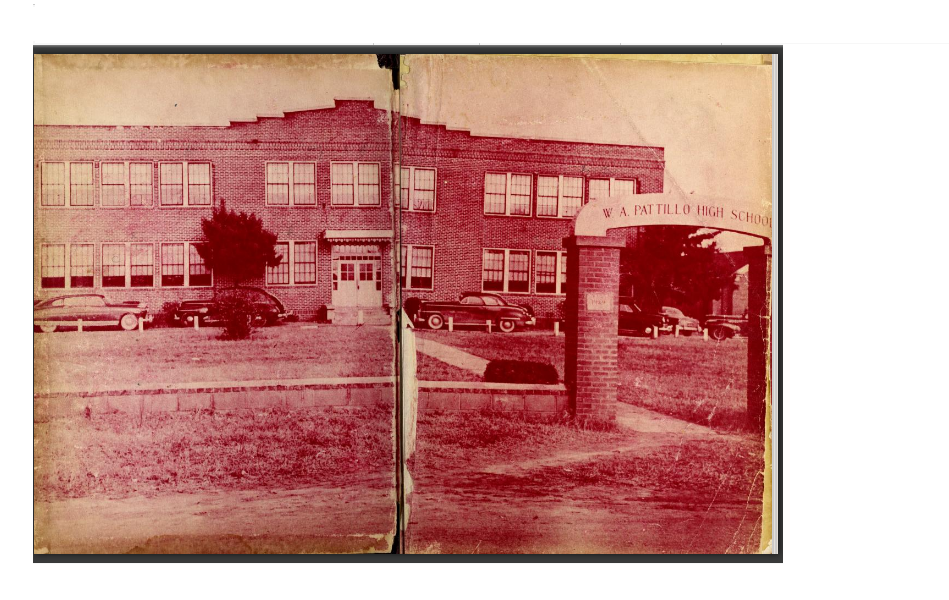 This is the old W.A. Pattillo High School
