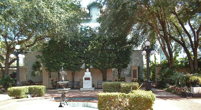 "The Museum's ""casita"" or garden"