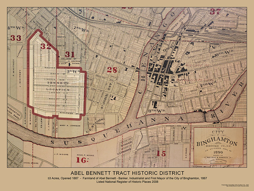 Abel Bennett Tract Historic District