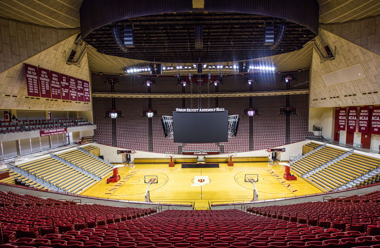 Assembly Hall from the inside