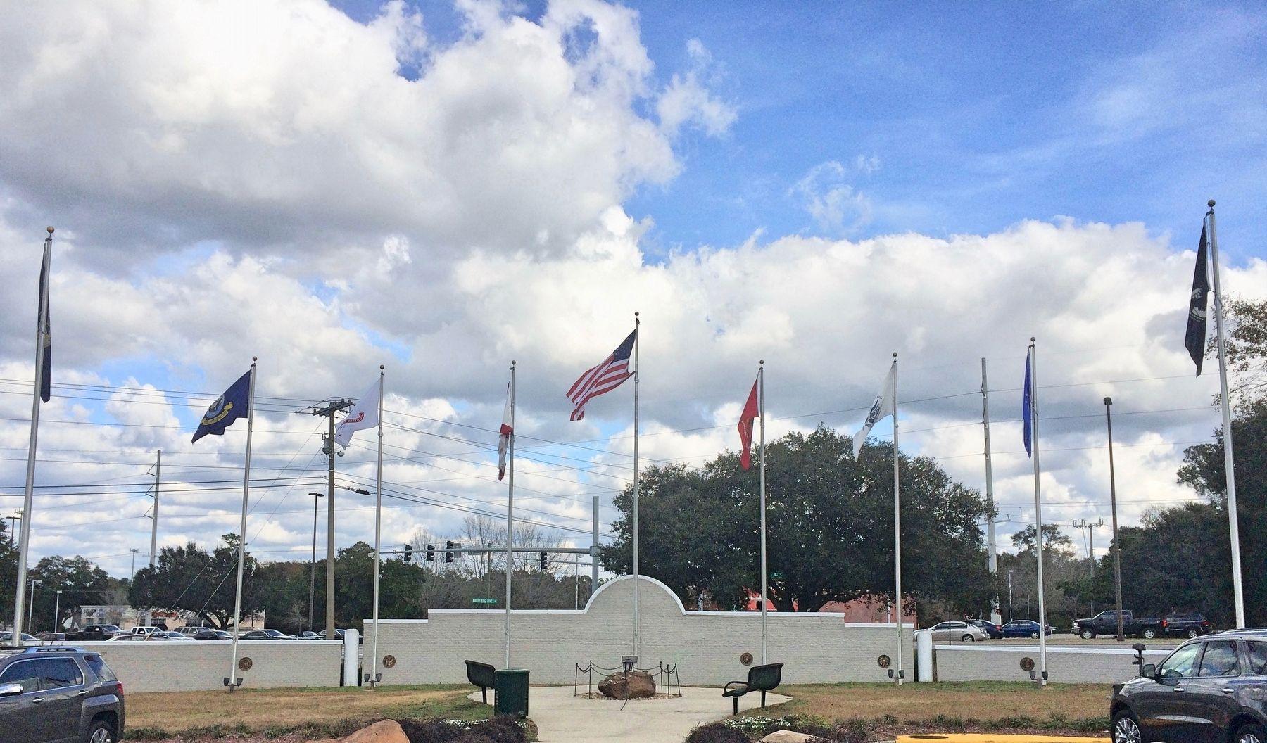 Patriot's Point Memorial.