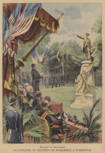 The unveiling of the monument on May 24, 1902.