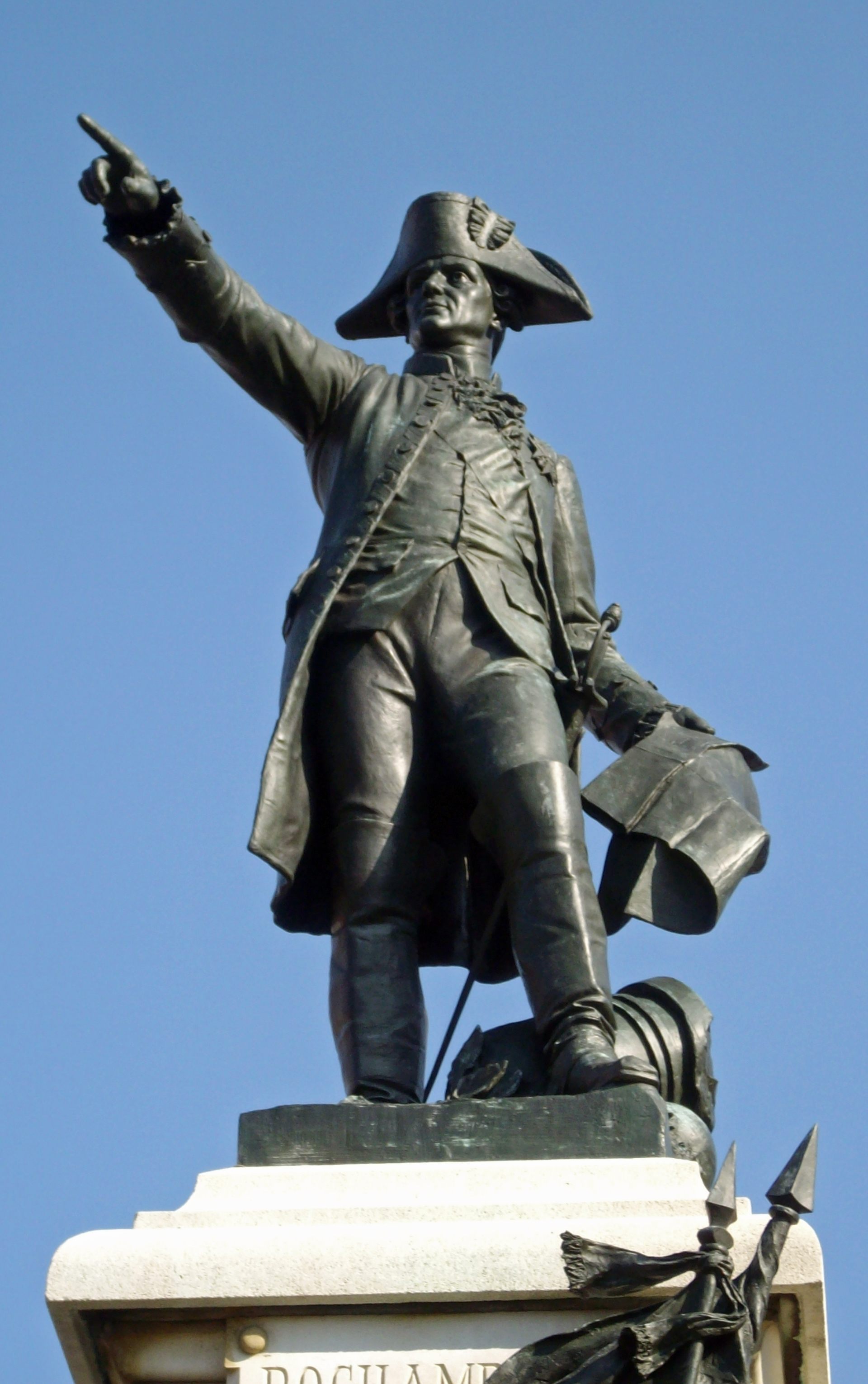 Rochambeau led French forces against Britain in the Battle of Yorktown