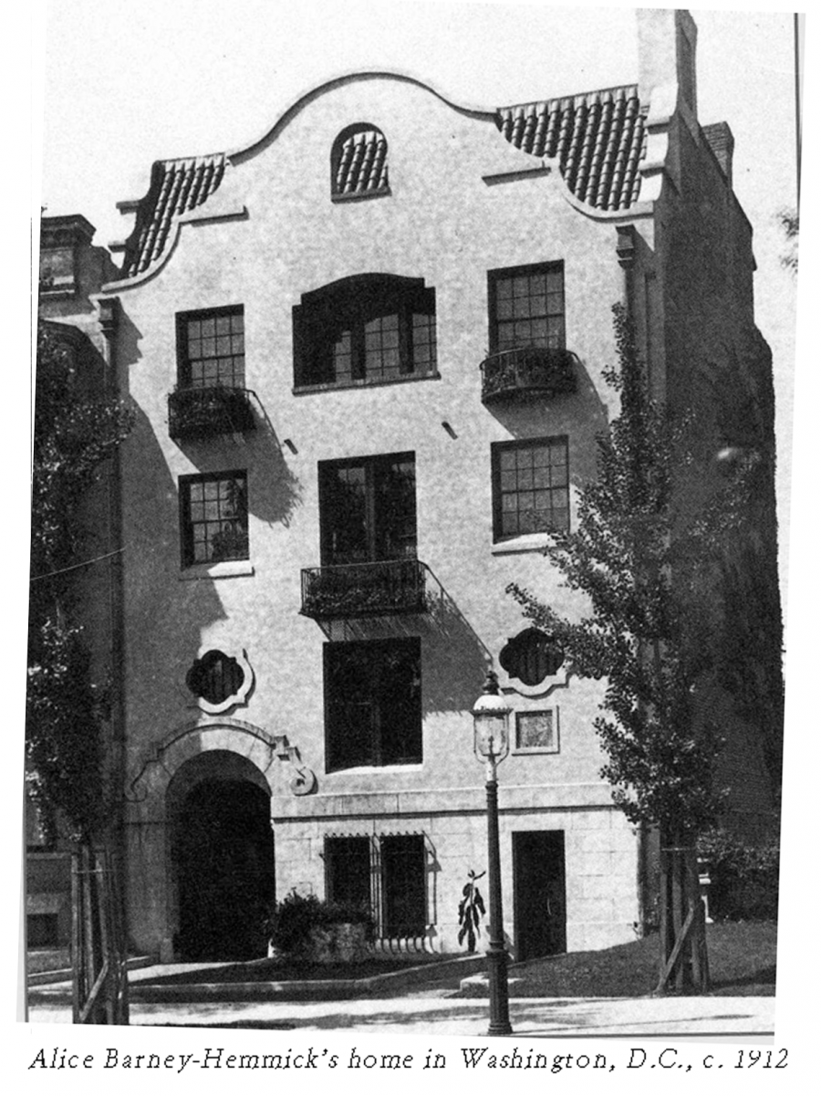 In 1976, the children of Alice Pike Barney donated the house to the Smithsonian American Art Museum, then called National Museum of American Art.