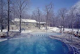 Camp David in the winter