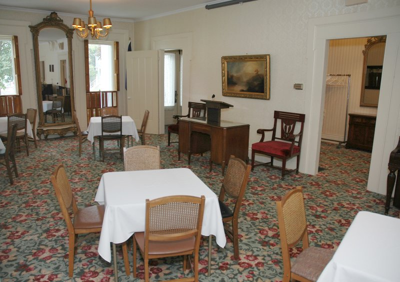 The Interior of The Ladies' Literary Club House