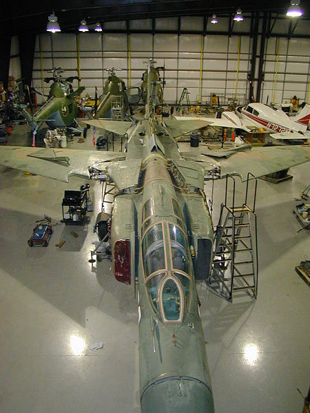 MiG-23 at Cold War Air Museum in Lancaster, TX