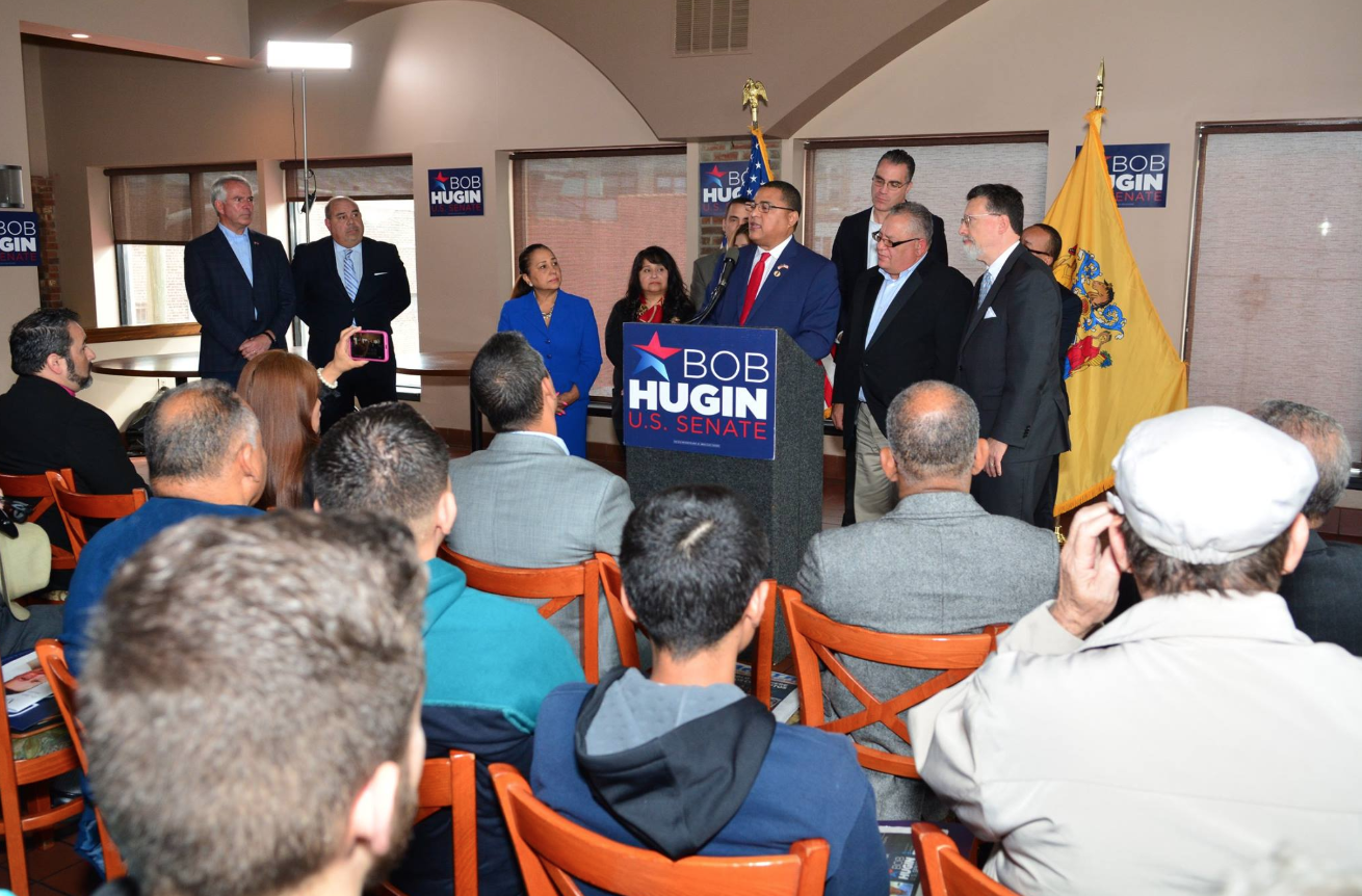 Endorsement of Bob Hugin