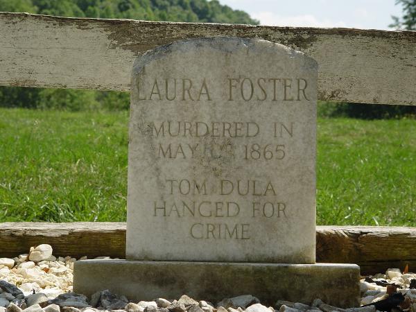 Gravestone of Laura Foster