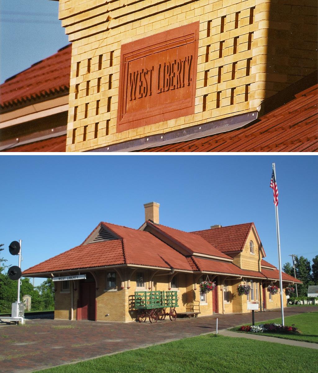 West Liberty Depot
