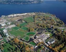 Magnuson Park aerial view