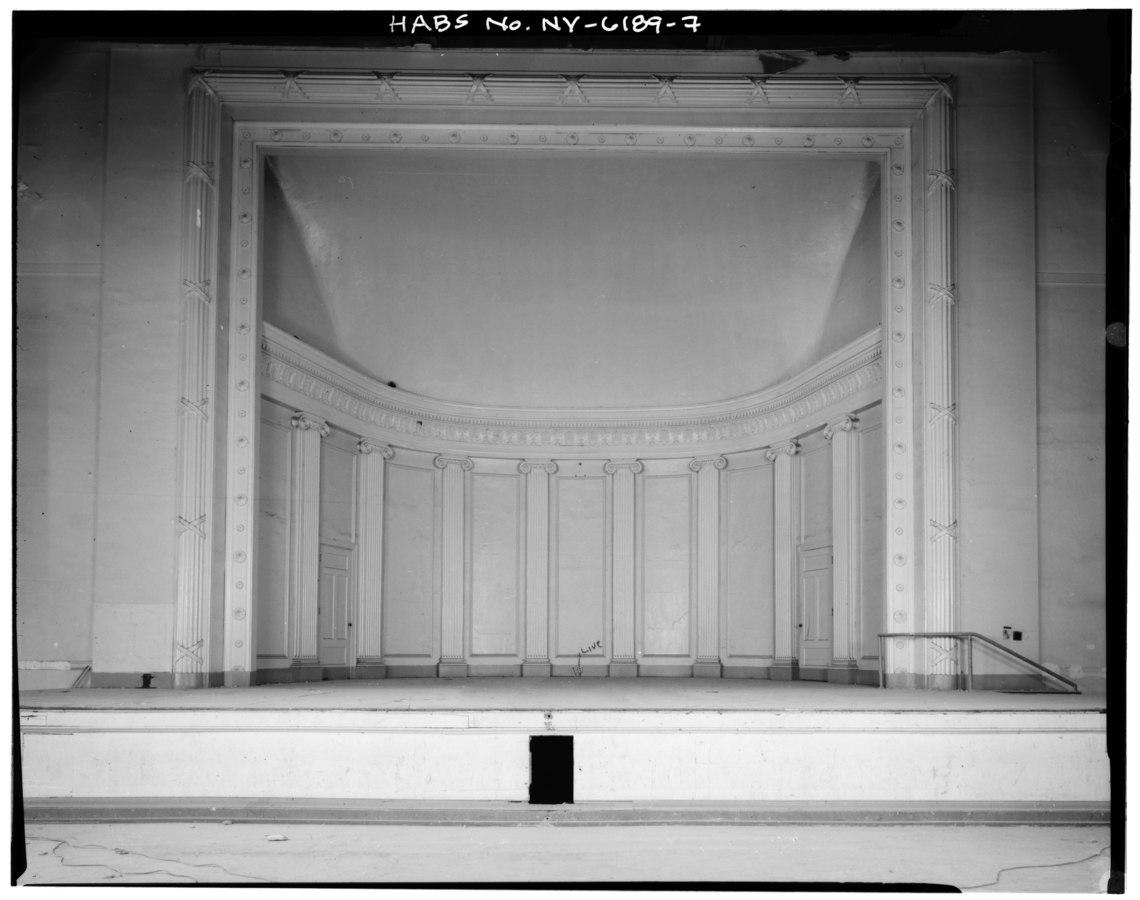 Geva Theatre Center main stage (circa 1933)
