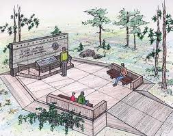 Sketch of Future Memorial.