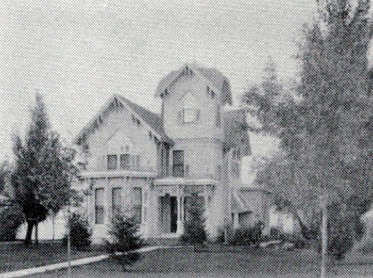 Dr. William Deats House, south elevation, 1897