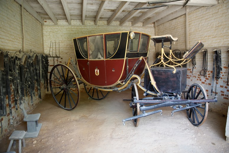 Similar carriage to the one Washington would have used on his journey.