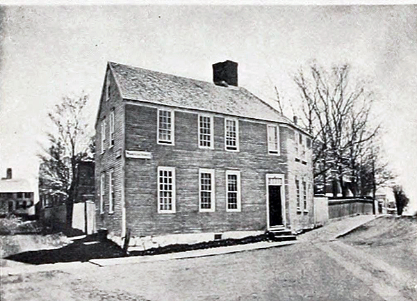 Original building of the NH Gazette printing office.