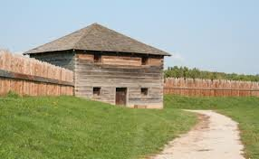 The centerpiece of this National Historic Landmark is the reconstructed fort and nearby visitor's center.