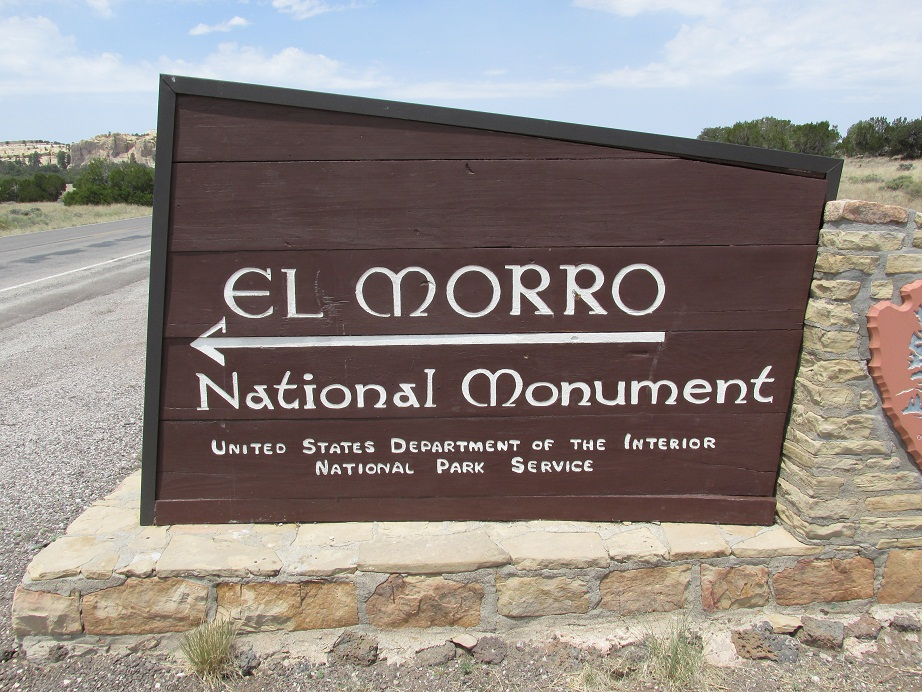 Entrance into National Monument