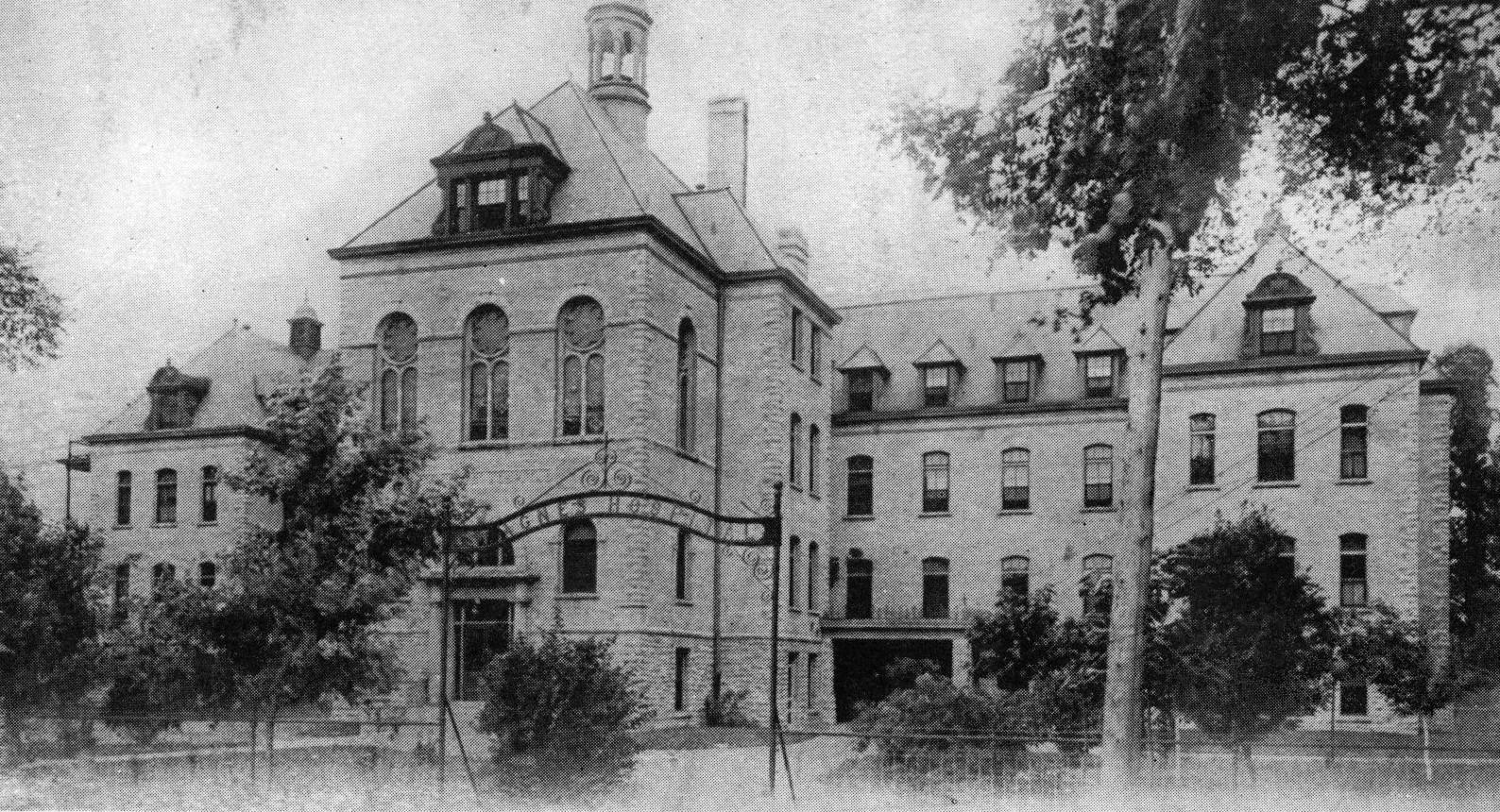 St. Agnes Hospital, c. 1900