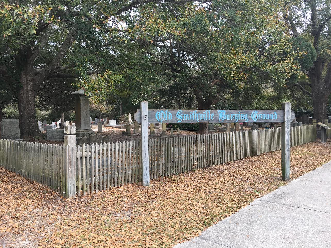 Old Smithfield Burying Grounds