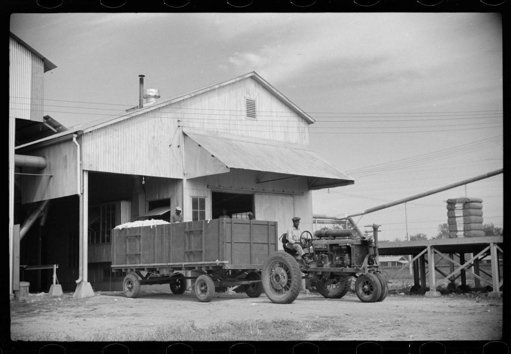 Gin of Hopson Planting Company, Clarksdale, Mississippi Delta, Mississippi