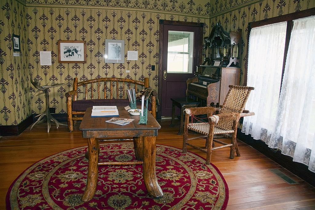 Inside Miller House