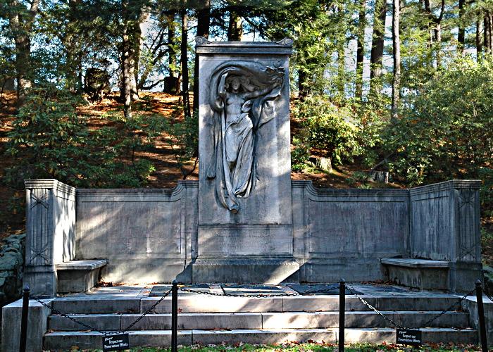 Melvin Memorial at Sleepy Hollow Cemetery (Courtesy of The Friends of Sleepy Hollow Cemetery)