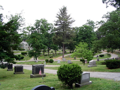 Sleepy Hollow Cemetery (Courtesy of the National Park Service)