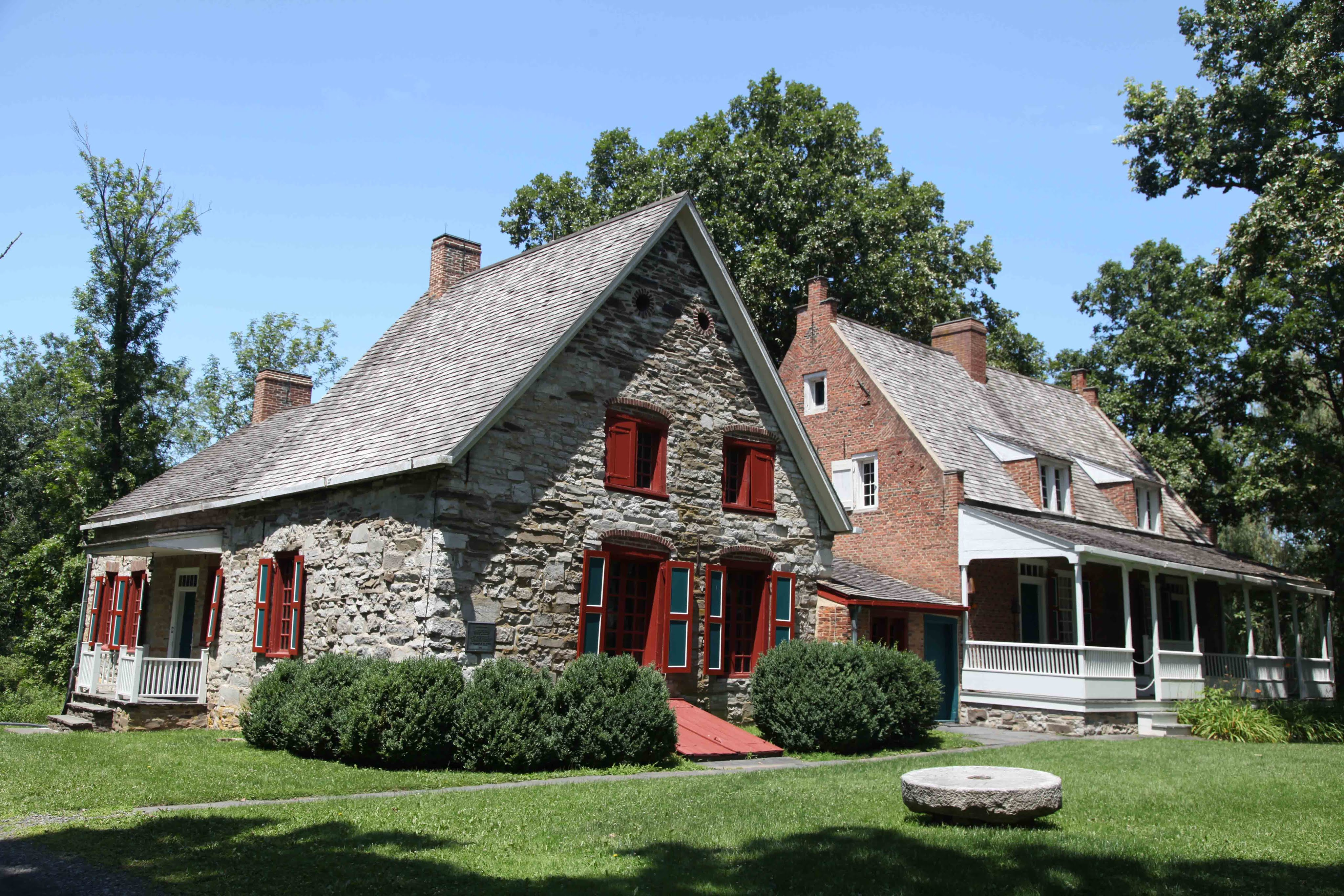 The museum is located inside several historic buildings, including this home which is believed to be the oldest in the Hudson Valley.