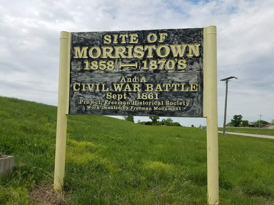 Sign located on HWY 2