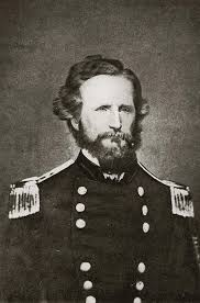 Brig Gen. Nathaniel Lyon, commander Army of the West Union forces at Wilson's Creek, first Union General killed in the Civil War.