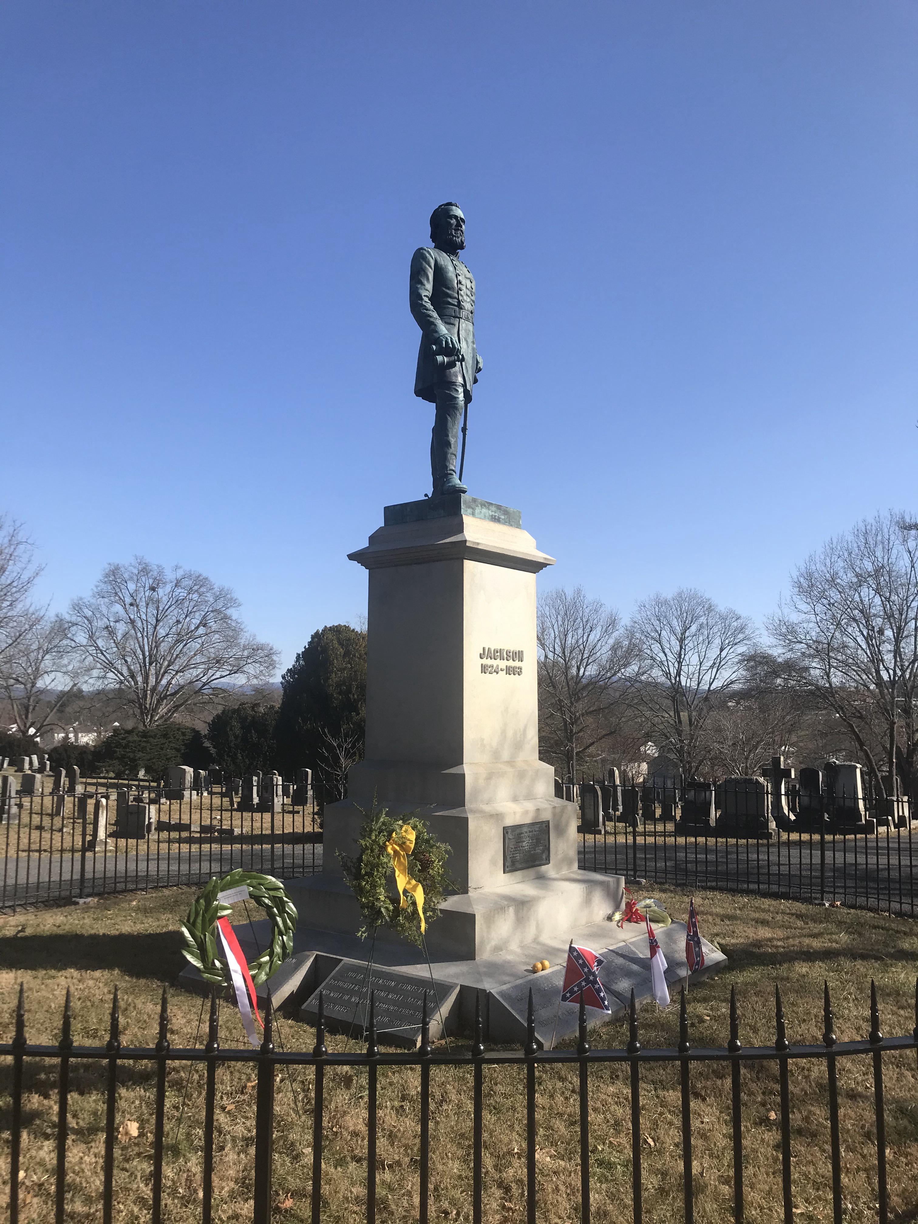 Stonewall Jackson's Grave & Statue