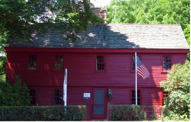 Branford's Harrison House dates to 1724 (Branford Historical Society)