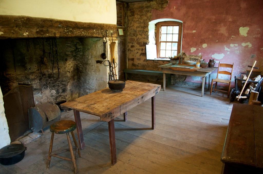 The kitchen within the Schifferstadt.