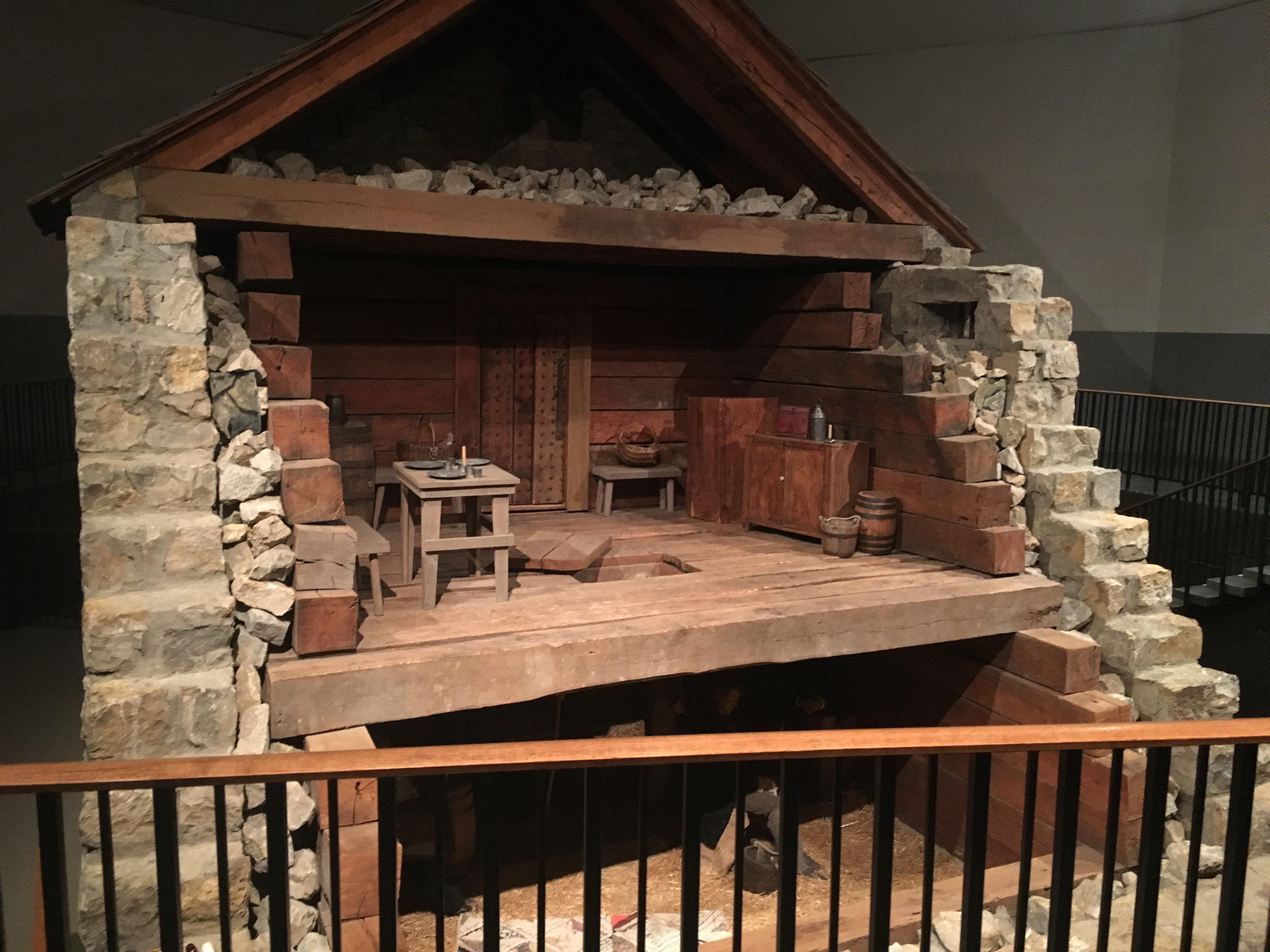 The Recreated Jail inside a visitors center offers interpretive tours led by LDS church members.