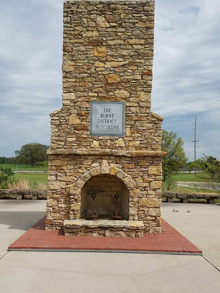 Burnt District Monument.
