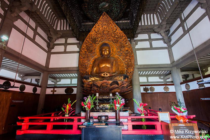 Byodo-In Lotus Buddha