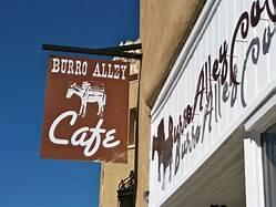 The Entrance of Burro Alley Café