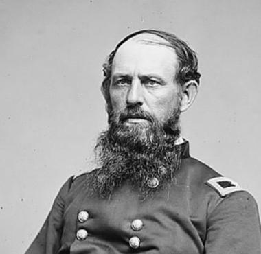 Colonel E.B. Tyler of the Seventh Ohio Infantry