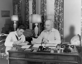 Truman's Desk at the little White House