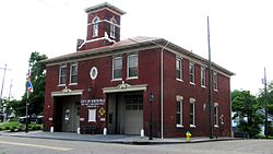 Fire Station No. 5 opened in 1909 and was preserved and placed back into active service in 1988