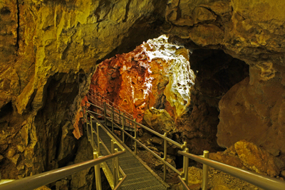 Entrance of Cave