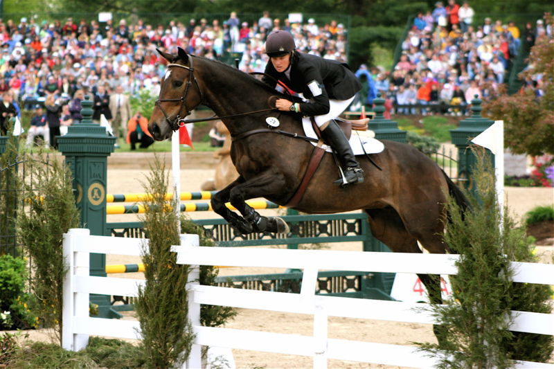 Show-jumping phase of Rolex 2006 (Ronald C. Yochum Jr.)