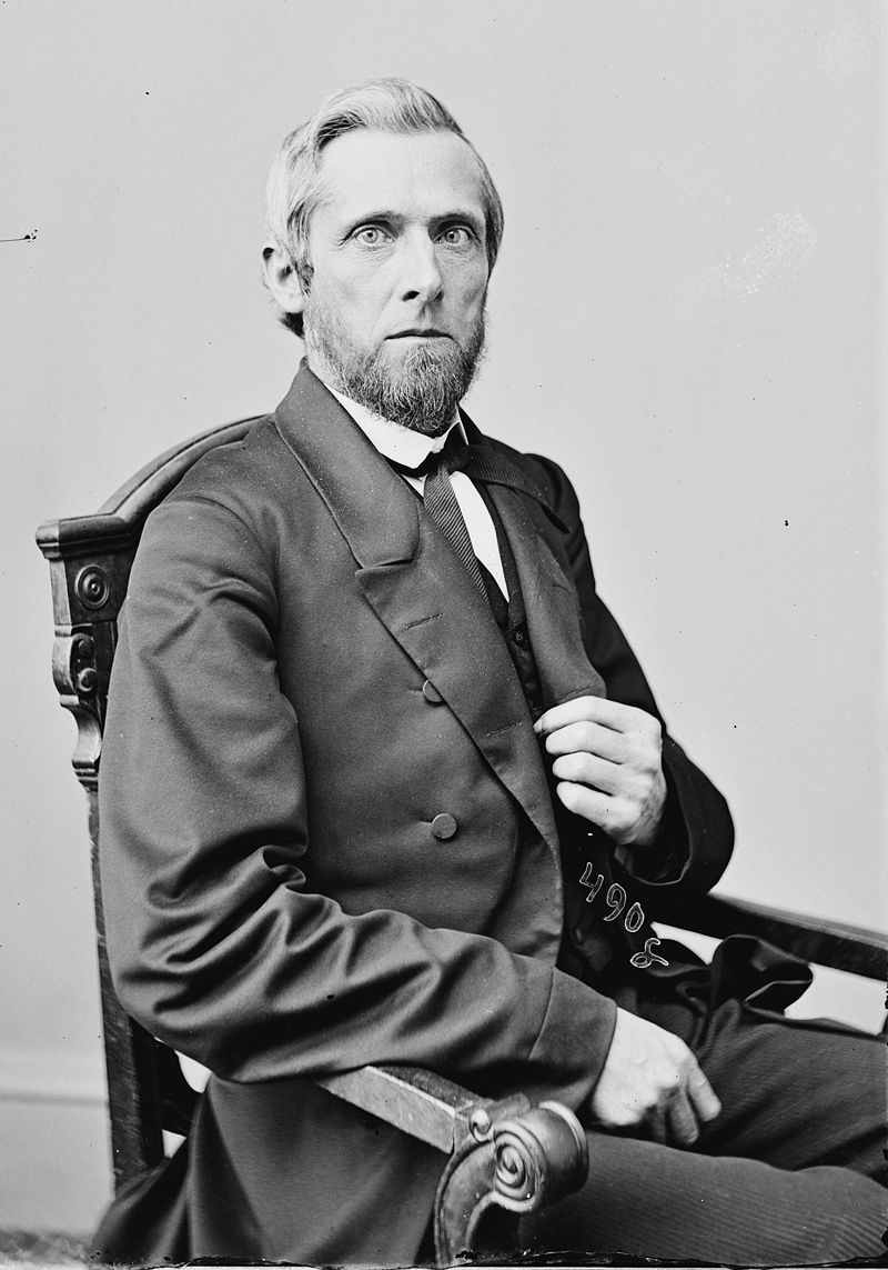 West Virginia Senator Waitman T. Willey, who fled Morgantown during the Jones-Imboden Raid.