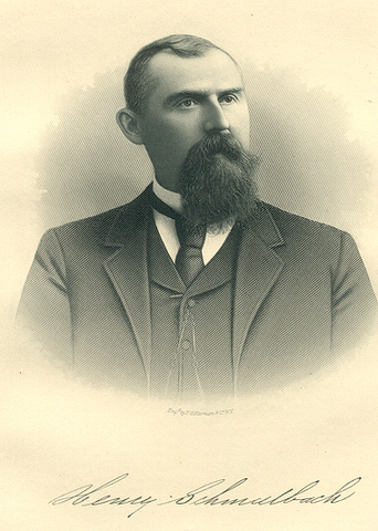 A photograph of Henry Schmulbach.