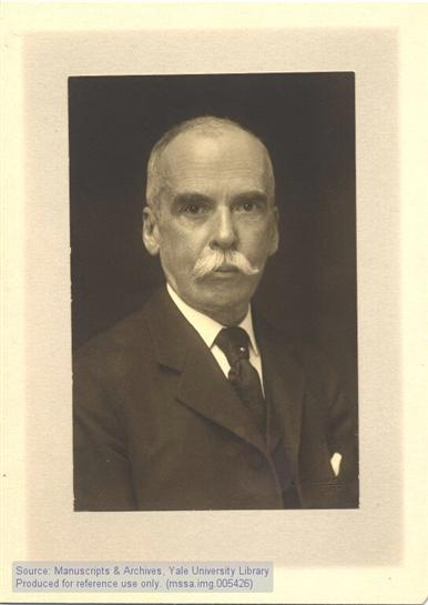 John W. Sterling, the library's namesake (Manuscripts & Archives, Yale University Library)