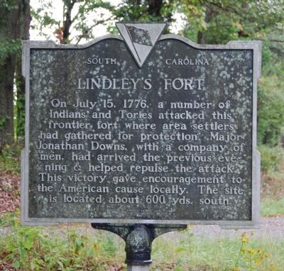 Historical marker now denoting the site and a bit of its history.