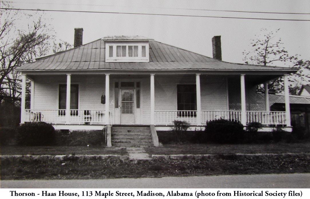 Thorson-Haas Home B&W