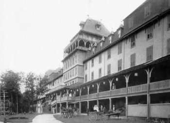 Neversink Mountain Hotel during its years of business
